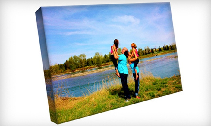 North Shore Studios - North Shore Studios: $49 for a Custom Gallery-Wrapped Canvas from North Shore Studios ($125 Value)