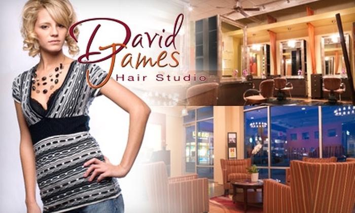 David James Hair Studio - Littleton: $25 for $55 Toward Any Salon Service at David James Hair Studio in Littleton