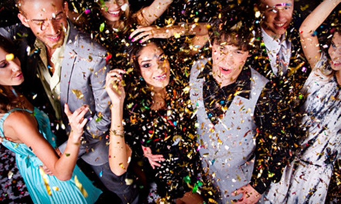 MKE NYE 2012 - Kilbourn Town: General or Premium Party Package for Two or Four or VIP Package for Four at MKE NYE 2012 at Aloft Hotel (Up to 64% Off)