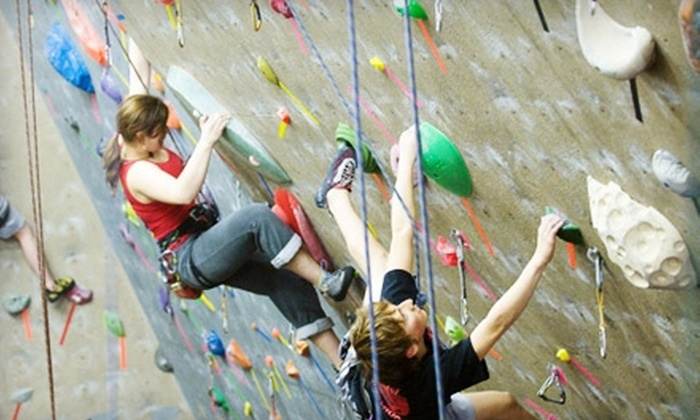 Boston Rock Gym - Woburn: Three-Hour Lesson and Two-Week Membership or Five Kids' Climbing Classes at Boston Rock Gym. Choose Between Two Options.