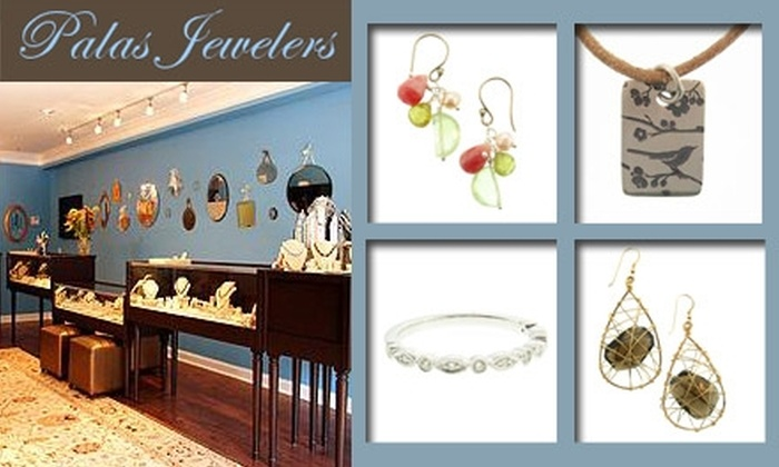 Palas Jewelers - South Tuxedo Park: $50 for $100 Worth of Exquisite Earrings, Necklaces, Bracelets, and More at Palas Jewelers