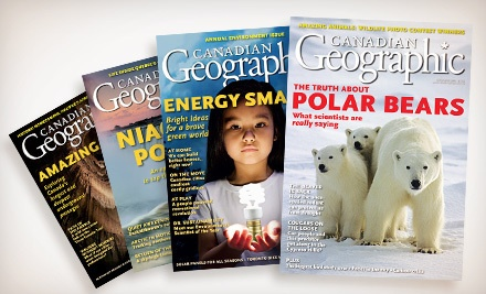 Canadian Geographic Magazine - Canadian Geographic Magazine in