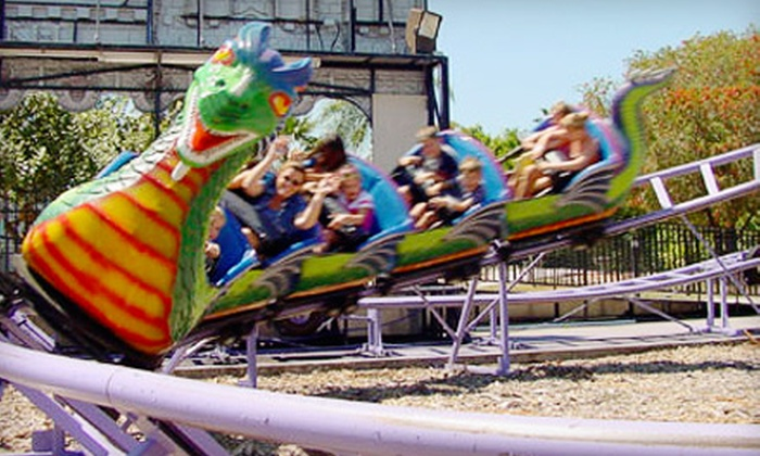 King Richard's Family Fun Park - Fort Myers / Cape Coral: $55 for a Family Ride & Dine Special for Four at King Richard's Family Fun Park ($110 Value)