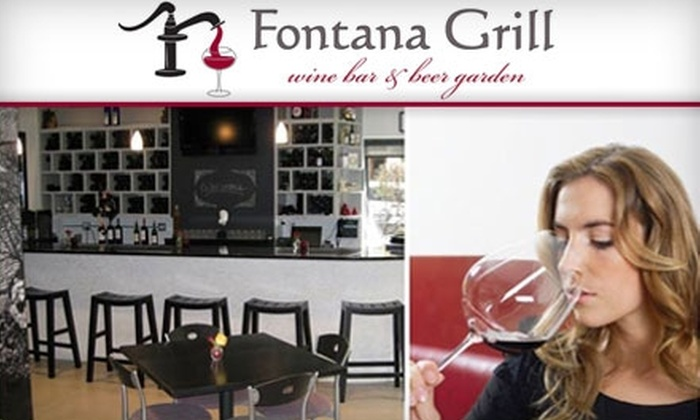Fontana Grill and Wine Bar - Uptown: $20 for $40 of Italian Fare and Drinks at Fontana Grill & Wine Bar