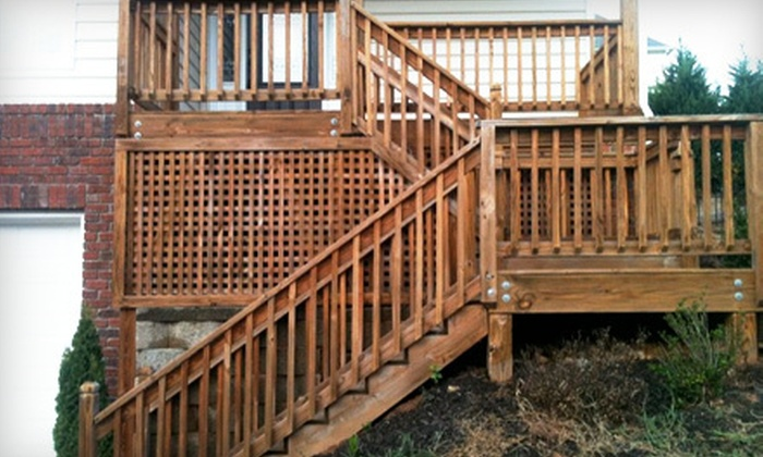 The Deck Doctor - White Oak: $50 for Up to 250 Square Feet of Deck Power Washing from The Deck Doctor (Up to $125 Value)