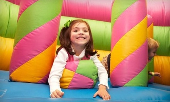 Monkey Joe's - Multiple Locations: Inflatable-Play Outing or a Two-Hour Party for Up to 16 at Monkey Joe's (Up to 57% Off)