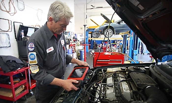 $33 for a Car-Care Package Including Three Oil Changes ($179.95 Value). Six Locations Available.