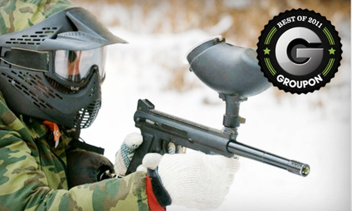 Battle Creek Paintball - Battlecreek Paintball: Paintball Outing for Two or Cold War–Scenario Event Outing for One at Battle Creek Paintball in Kingdom City (Up to 51% Off)
