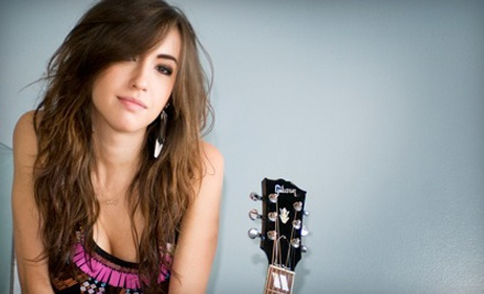 Kate Voegele and Parachute at The Orange Peel on Sun., Nov. 13 at 9PM: General Admission - Kate Voegele and Parachute in Asheville