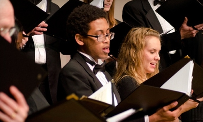 """Piedmont Chamber Singers - Ardmore: $6 for One Adult Admission to """"Fauré and Friends"""" by Piedmont Chamber Singers in Winston-Salem (Up to $18 Value)"""
