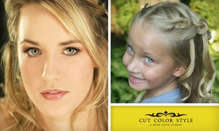 Cut Color Style - Worthington: $35 for $70 Worth of Services at Cut Color Style