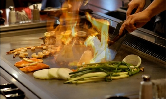 Blue Fin Steakhouse & Sushi Bar - Howell: $15 for $30 Worth of Japanese Fare and Drinks at Blue Fin Steakhouse & Sushi Bar in Howell