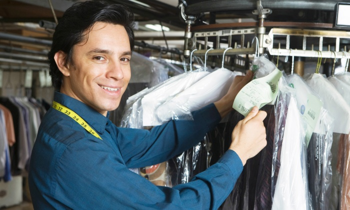 Plaza Dry Cleaners - Santa Monica: Cleaning Services at Plaza Dry Cleaners (Up to 52% Off). Two Options Available.