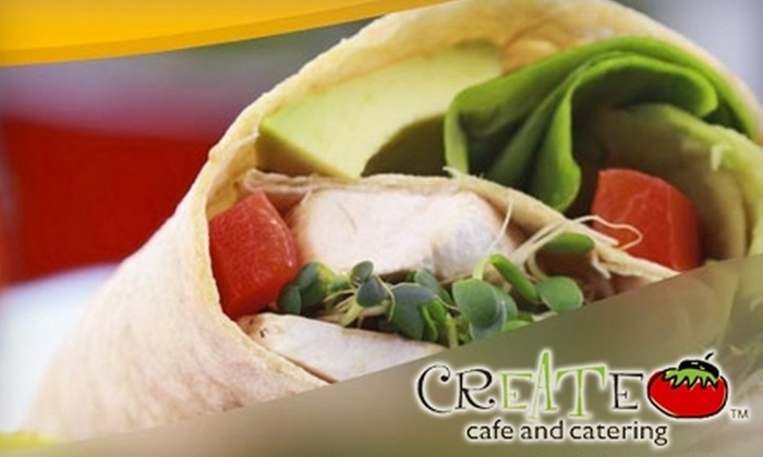 Create Cafe and Catering - Ward 2: $10 for $20 Worth of Burgers, Sandwiches, and More at Create Cafe