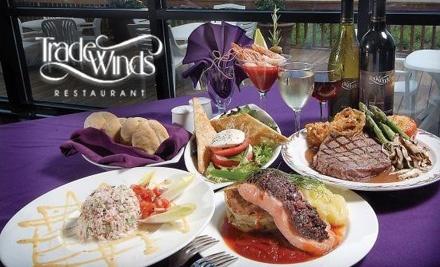 TradeWinds Restaurant: $25 Toward Lunch Fare - Trade Winds Restaurant in Virginia Beach
