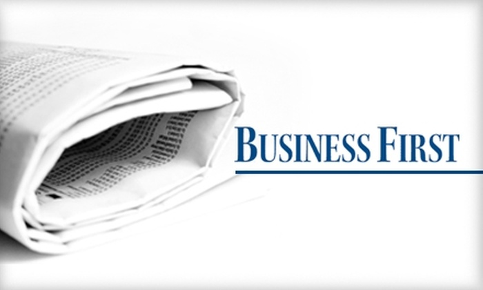 """Business First - Louisville: $46 for a One-Year Subscription to """"Business First"""" Weekly Newspaper ($92 Value)"""