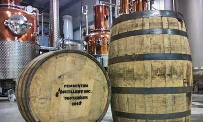 Pemberton Distillery - Pemberton: Distillery Tour and Tasting for Two, Four, or Eight People at Pemberton Distillery