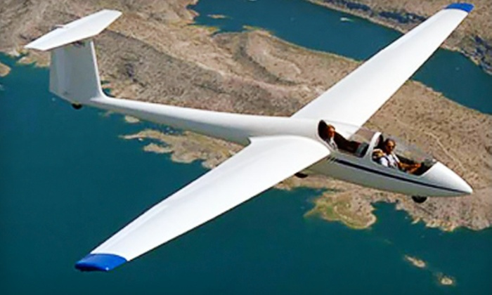 The Soaring Center - Jean: $130 for a Glider-Flying Experience at The Soaring Center in Jean ($248 Value)