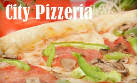 City Pizzeria: $25 Groupon Towards Pizza, Subs, Salads and More for Dine-in or Delivery - City Pizzeria in San Diego