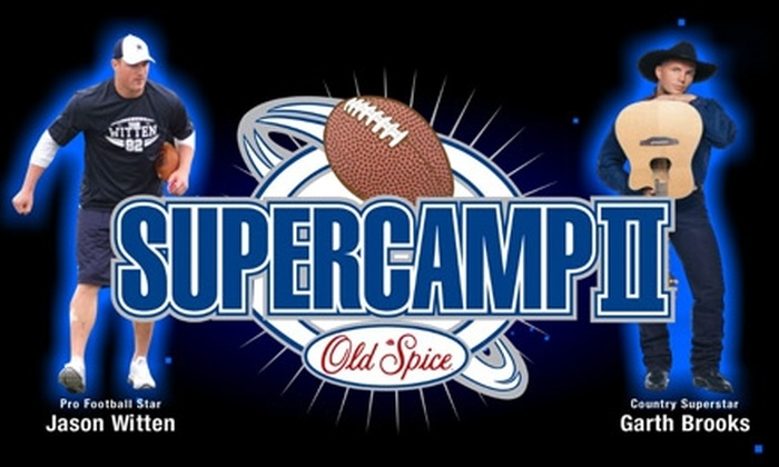 Old Spice SuperCamp II - Southlake: Admission to Old Spice SuperCamp II. Choose from Two Options.