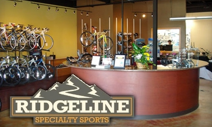 Ridgeline Specialty Sports - Eagle: $60 for Five-Punch Ski Tune-Up Card or $15 for Ski Tune-Up at Ridgeline Specialty Sports in Eagle
