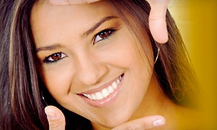 Madison Smile - Midtown Center: $129 for Exam, X-rays, Cleaning, and Whitening Treatment at Madison Smile ($795 Value)