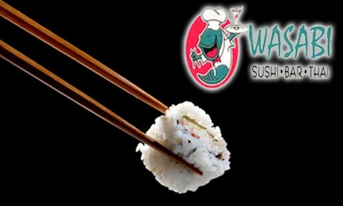Wasabi Cary - Cary: $12 for $25 Worth of Sushi, Drinks, and More at Wasabi