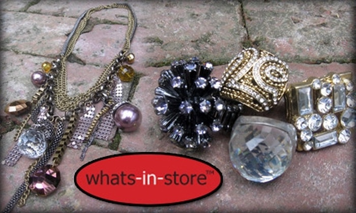whats-in-store: $20 for $40 Worth of Jewelry, Accessories, and More from whats-in-store