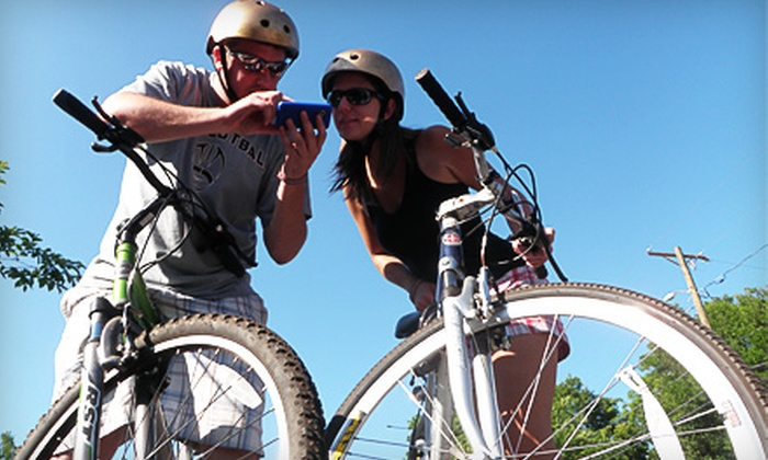 Urban Bike Adventure - Central Business District: Two-Person or Three-Person Team Entry to Urban Bike Adventure on Saturday, September 10 at 10 a.m.