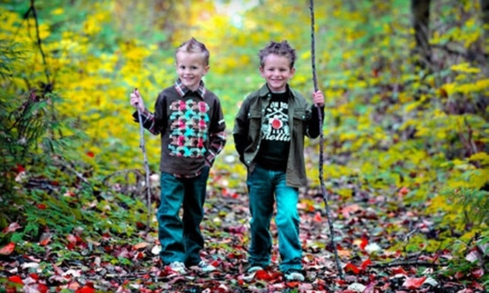 "Imagemakers Photography Studio - West Abbotsford: $59 for a Group Photo-Shoot Session, Plus a 5""x7"" Laminated Portrait, at Imagemakers Photography Studio (Up to $417 Total Value)"