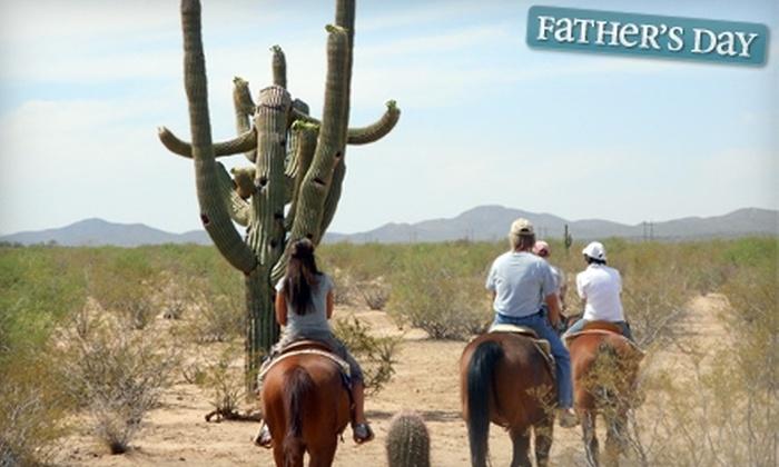 Cocoraque Ranch & Pavilion - Tucson: $29 for Trail Ride at Cocoraque Ranch & Pavillion ($65 Value)