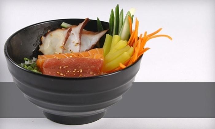 Oishii Sushi - City Centre: $15 for $30 Worth of Sushi and Asian Fare at Oishii Sushi