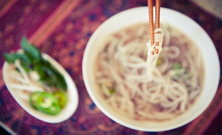 Vietnamese Meal for Two or Four at Pho Good (Up to 52% Off)