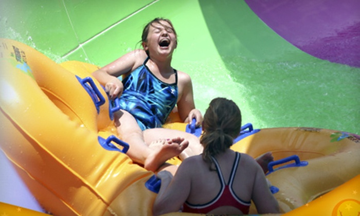 Magic Waters Waterpark - Magic Waters: Water-Park Visits with Tube and Locker Rentals for Two or Four at Magic Waters Waterpark (Up to 52% Off)