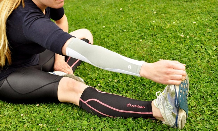 Phiten X30 Compression Arm Sleeve: $9.99 for a Phiten X30 Compression Arm Sleeve in Black or White ($19 List Price)
