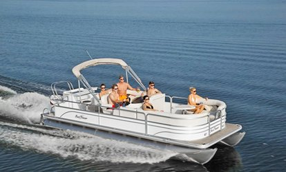 56% Off Pontoon-Boat Rental at Oneida Lake Boat Rentals