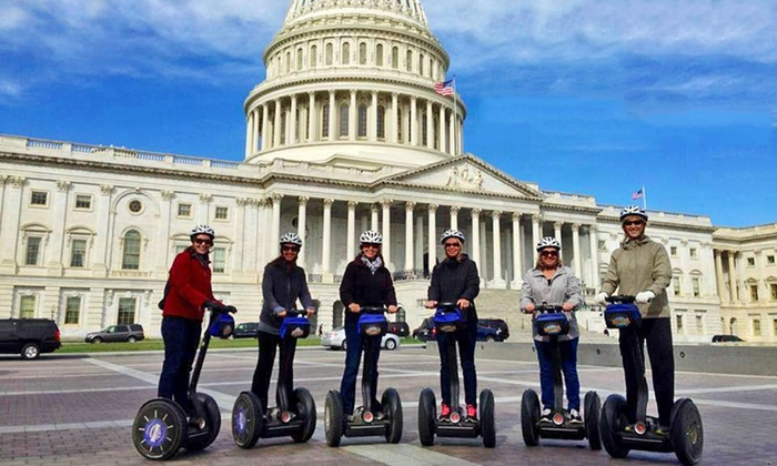 Bike and Roll DC - North Building - Suite 905: 2.5-Hour Guided Segway Tour for One or Two from Bike and Roll (Up to 38% Off). Four Options Available.