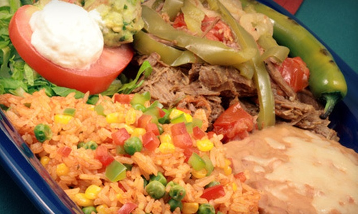 Los Reyes Mexican Gril - Anderson Mill - Northwest Austin: Mexican Fare for Breakfast, Lunch, or Dinner at Los Reyes Mexican Grill (Half Off)