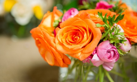C$15 for C$30 Toward Flower Bouquets, Gift Baskets, and More from What a Bloom