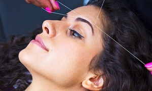 BGZ Hair Couture: Three or Six Eyebrow-Threading Sessions at BGZ Hair Couture (Up to 47% Off)