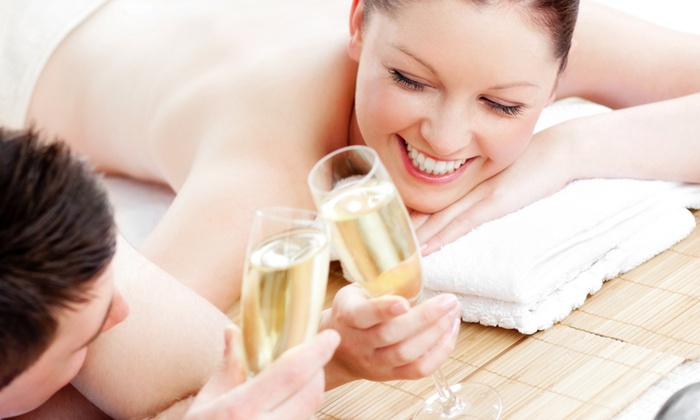 Utopian Salon & Wellness - Palm Aire Plaza: Massage and Facial for One or Massage, Facial, and Champagne for Two at Utopian Salon & Wellness (Up to 55% Off)