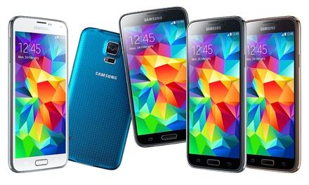 Samsung Galaxy S5 de 16 GB e ecrã full HD de 5,1' recondicionado por 329€