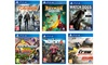 Groupon Goods Global GmbH: Rayman Legends, The Crew Wild Run Edition, Watch Dogs, The Divison, Trackmania Turbo e Far Cry 4 per PS4