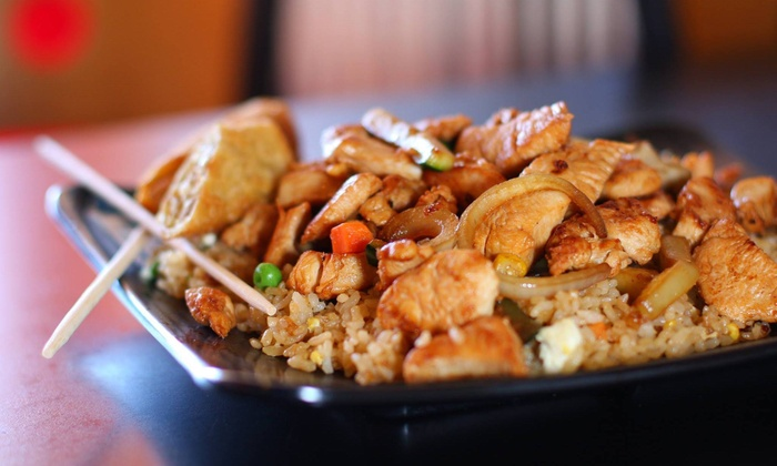 Chop Chop Japanese Steakhouse - Lubbock: Up to 44% Off Dine in or Delivery at Chop Chop Japanese Steakhouse