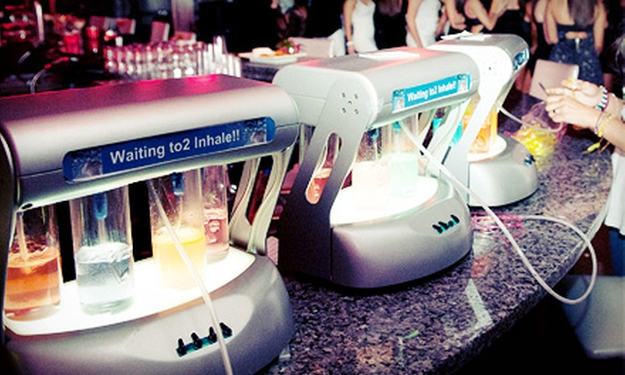 Waiting to2 Inhale!! - Springfield Township: Five-Hour Oxygen-Bar Rental with Two or Four Oxygen Stations from Waiting to2 Inhale!! (Up to 65% Off)