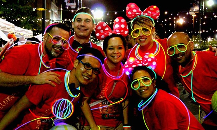 Luminate 5K: Nighttime Race Entry for One or Two from Luminate 5K (Up to 50% Off)