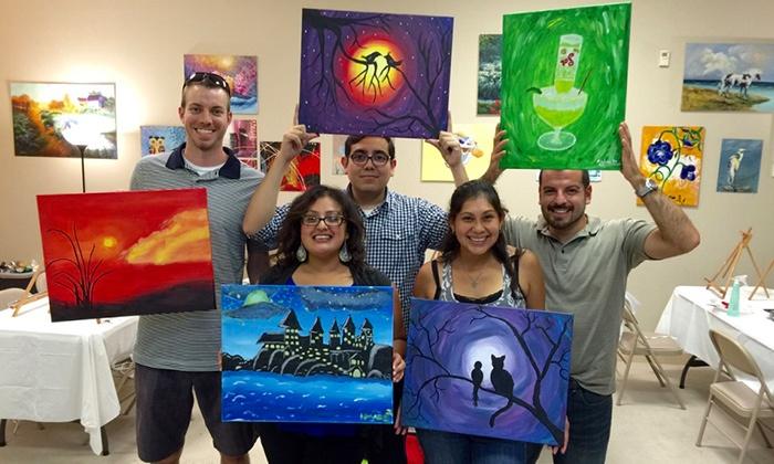 Ardor Studio - Ardor Studio: BYOB Painting Class for One, Two, or Four at Ardor Studio (Up to 42%Off)