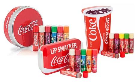 1 o 2 packs de 6 bálsamos labiales Lipsmacker con sabor de Coca Cola Oferta en Groupon