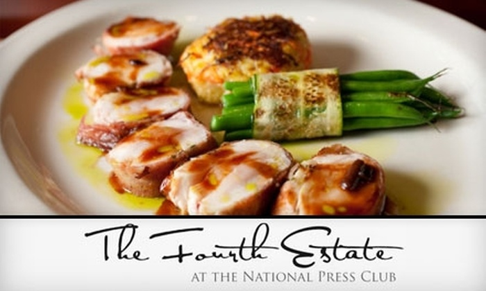 The Fourth Estate  - Downtown - Penn Quarter - Chinatown: $20 for $40 Worth of New American Cuisine at The Fourth Estate