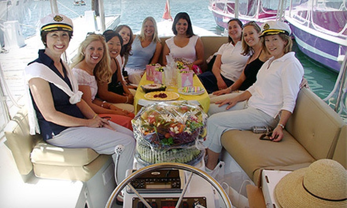 Northwest Boat Rentals and Adventures - Poulsbo: 90-Minute Wine-and-Appetizer Cruise for Four or Six from Northwest Boat Rentals and Adventures in Poulsbo (Up to Half Off)